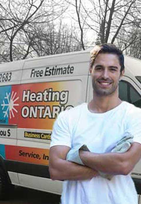 HVAC Service Van