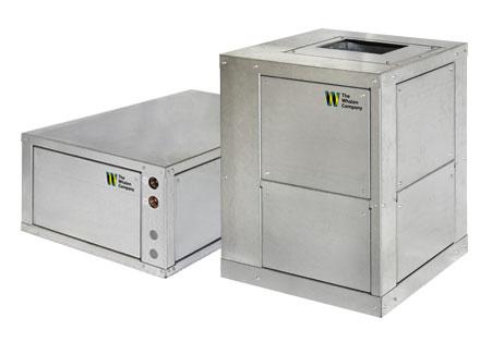 Closetline Packaged Water Source Heat Pump Geothermal HVAC Toronto