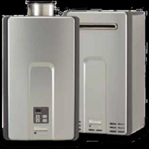 tankless hot water heater dhw toronto rinnai inline