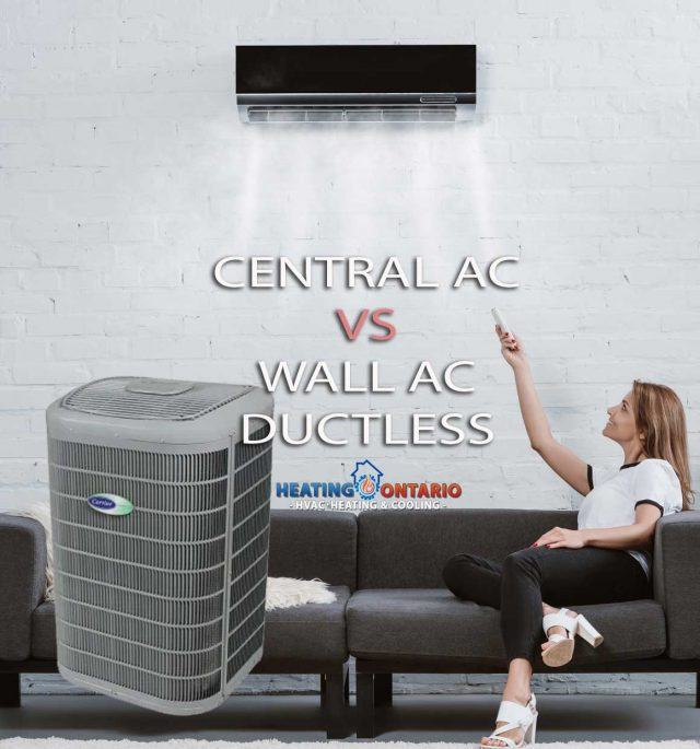 Toronto Central AC vs Wall Air Conditioner Ductless Systems